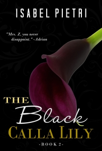 The Black Calla Lily